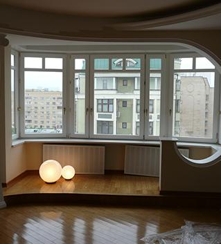 Отделка лоджии и балкона пластиком снаружи