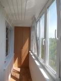 Наши работы  по отделке и ремонту лоджий и балконво