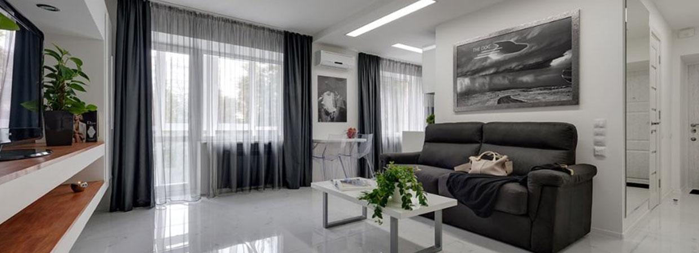 Ремонт квартиры трехкомнатных