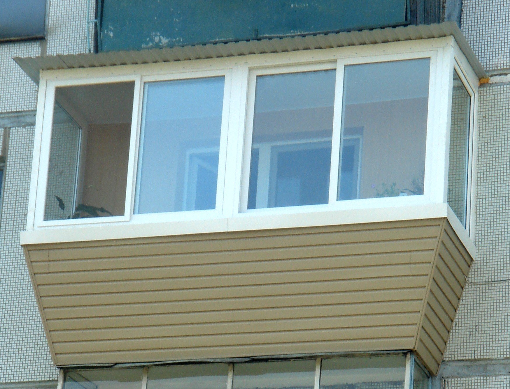 Расширение, вынос балкона или лоджии