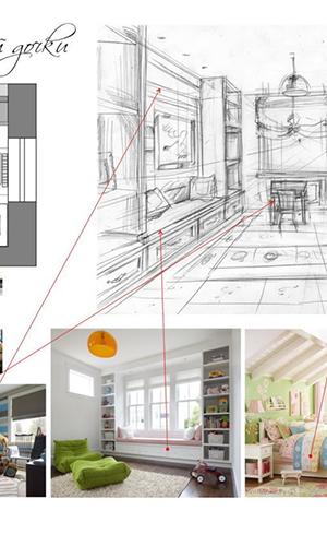 Полный комплекс дизайн помещений