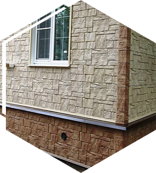 Фасадные работы из любых материалов в Тюмени под ключ