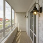 Ремонт и отделка квартир под ключ в ЖК 5 Квартал без дизайн проекта в Тюмени лоджии