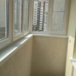 Проект по отделке квартиры в ЖК Плеханово Отделка балкона