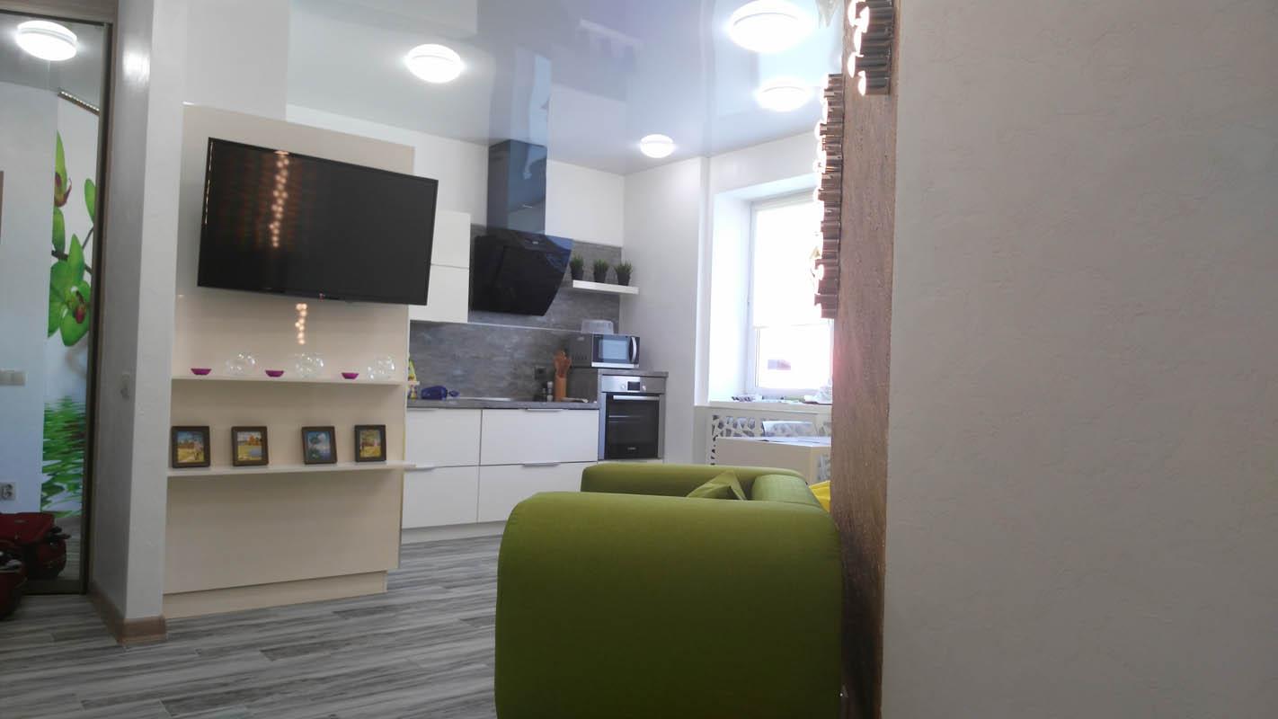 Проект по отделке квартиры с декоративным дизайном в ЖК СУХОДОЛЬЕ