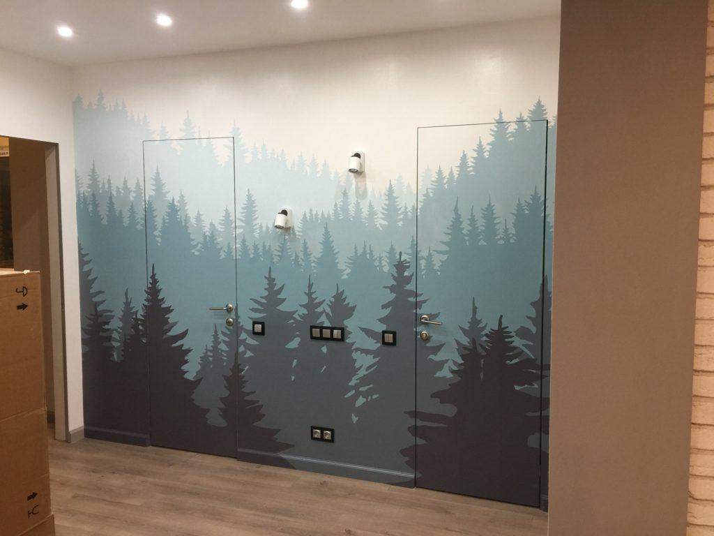 Покраска и разрисовка стен: какие особенности нужно знать?