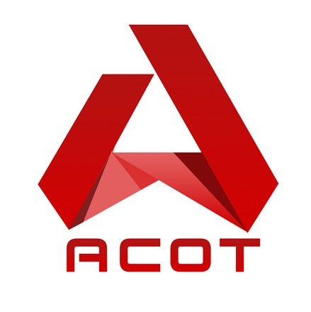 Логотип строительной ремонтной компании АСОТ
